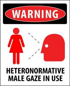 Heteronormative Male Gaze In Use